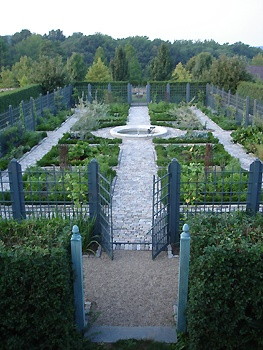 Architect's potager garden