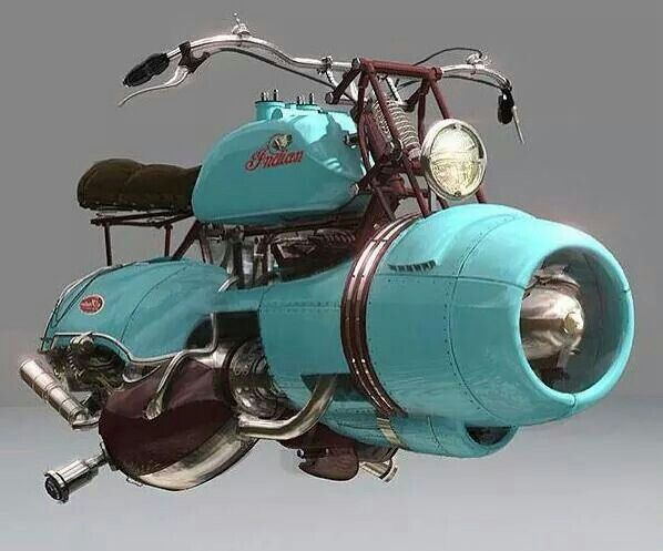 Love a good hoverbike!