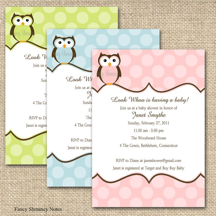 10 best Awesome Baby Shower Invitation Ideas images on Pinterest ...