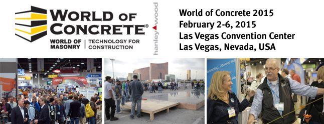 ACI World of Concrete Feb 2015
