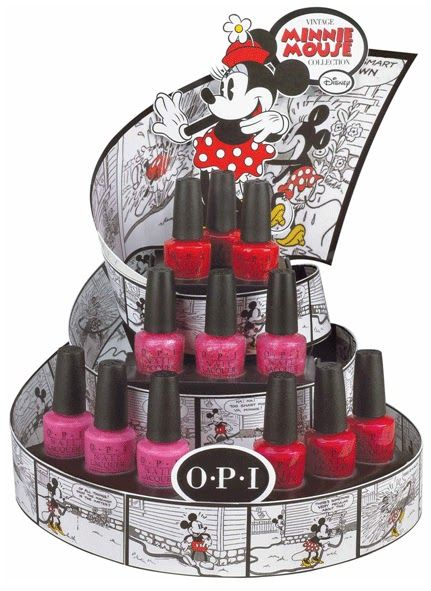 OPI-Minnie-Mouse-18: Opi Minnie, Mouse Collection, Color, Nailpolish, Minnie Mouse, Nails Polish, Opi Vintage, Mouse Opi, Vintage Minnie