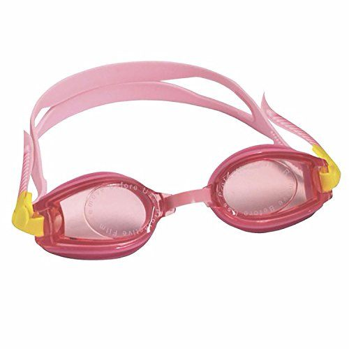 Kids Pink Swim Goggles  AntiFog UV Protection  Toddler Girls Ages 25 *** Check out this great product.Note:It is affiliate link to Amazon.