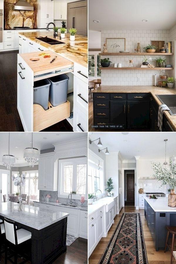 White And Silver Kitchen Ornaments