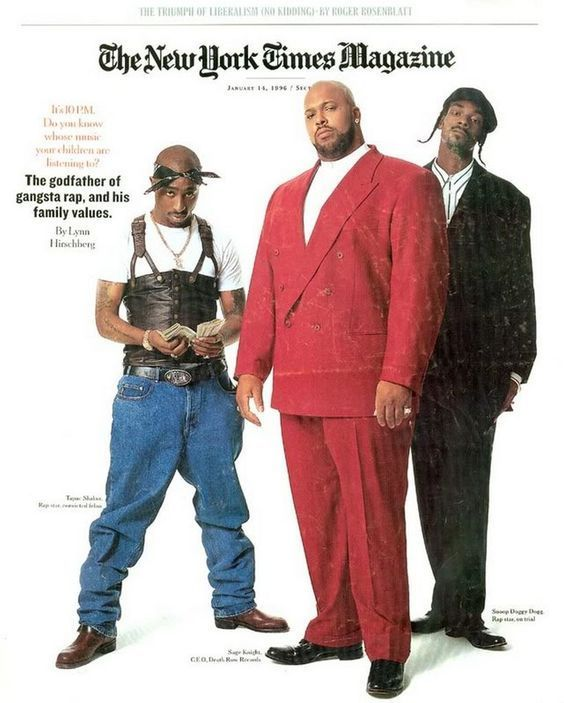 Image result for NYTimes magazine Tupac, Snoop, Suge Knight