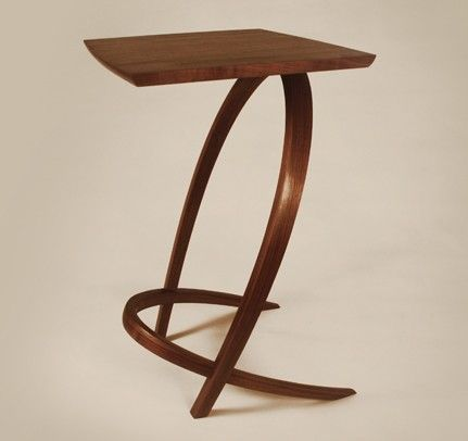 End Table Available for commission by reedhansuld on Etsy, $1500.00.... this is art!!! Gorgeous!