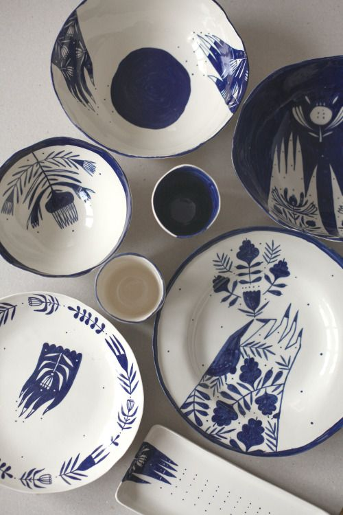 * From The Palm Of Your Hand / porcelain tableware / The Awesome Project / 2015