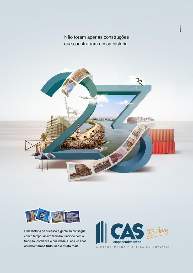 CAS - 23 ANOS on Behance