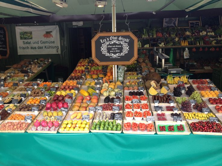 Markets in Munich