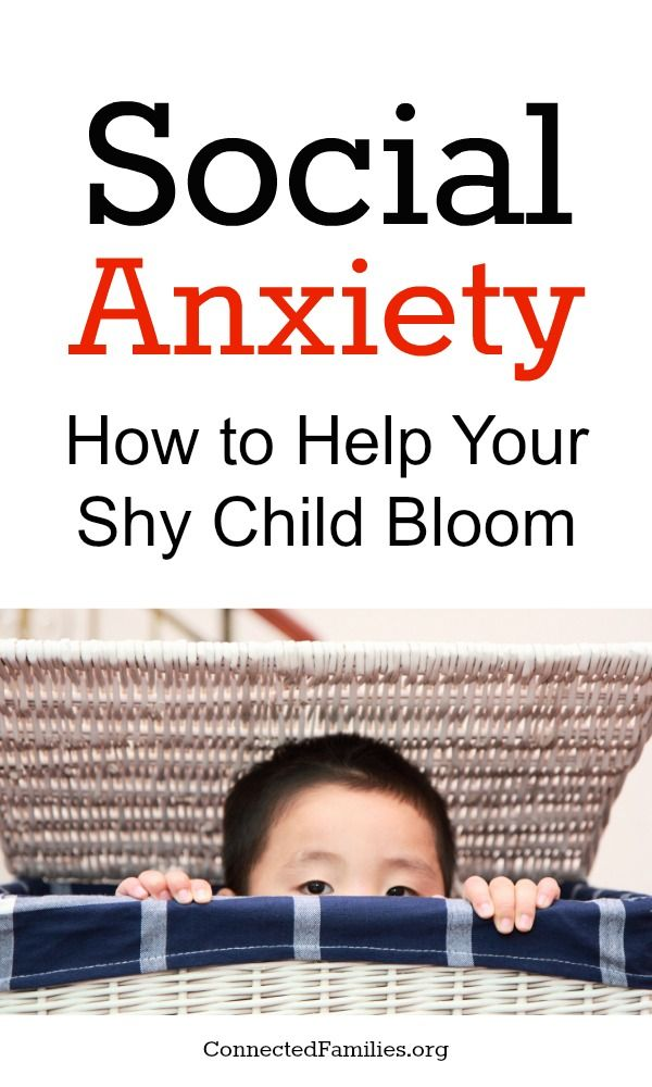 The shy label may be somewhat accurate, but it does nothing to honor kids or help them become more confident about who they are. Check out these tips on what causes social anxiety and how you can help your child bloom! ~ConnectedFamilies.org