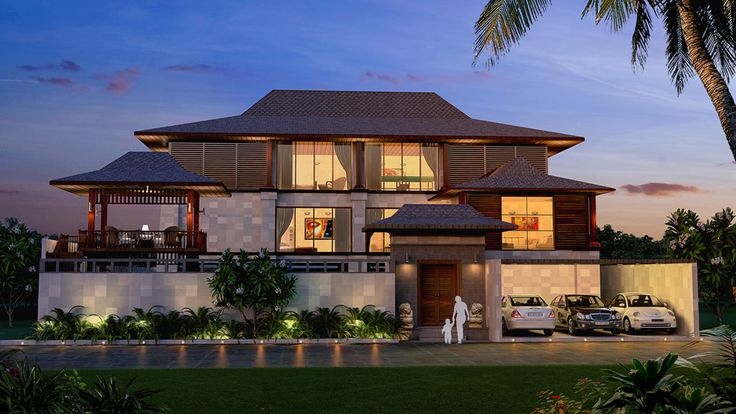 Bali Style Roof Modern House Pinterest Bali Style