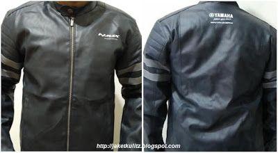 Jual jaket kulit yamaha Nmax online custom, WhatsApp : 081703402482