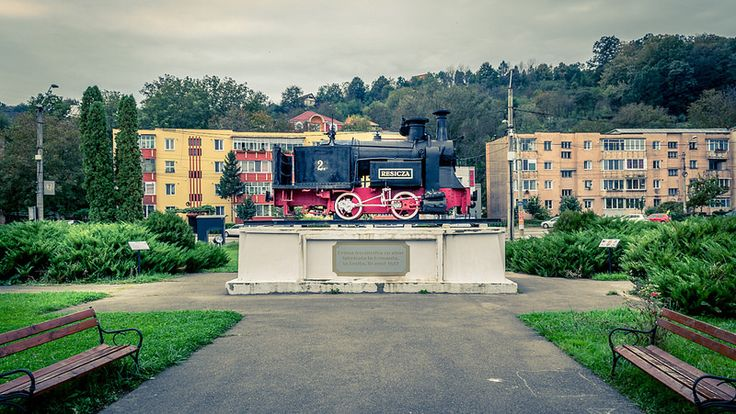 Check out the steam locomotives located inside the Resita Steam Locomotive Museum.