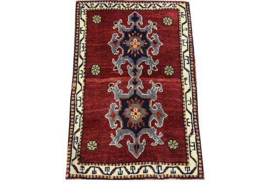 Doormats Turkish rugs handmade 22 x 1.5 Feet by stripepattern