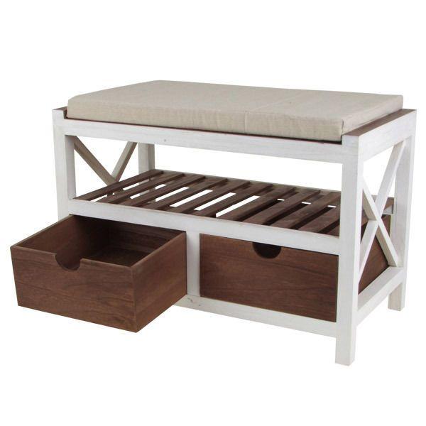Schuhregal Sitzbank Schuhschrank mit Sitzfläche Schuhbank Bank Sitzkommode in Möbel & Wohnen, Möbel, Sitzbänke & Hocker | eBay