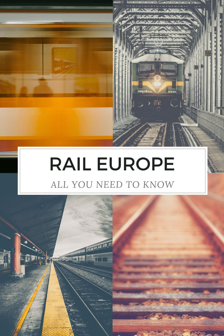 Rail Europe - Train Travel in Europe – travel in style - Only Once Today