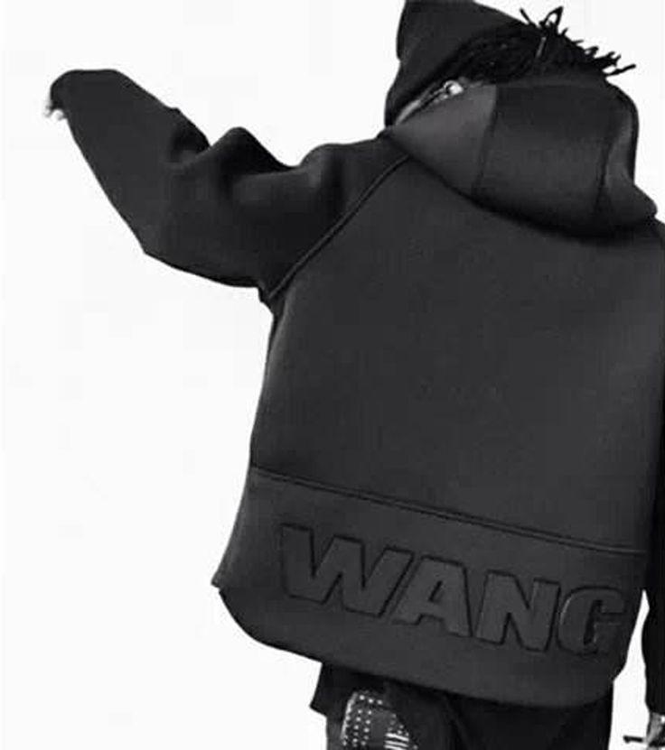 Купить товарМужские толстовки и кофты хип хоп куртки верхний марка ван алекс балахон черный куртка в категории Толстовки и кофтына AliExpress.
