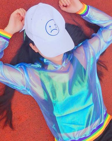 Pre-Order Rainbow See-through Top