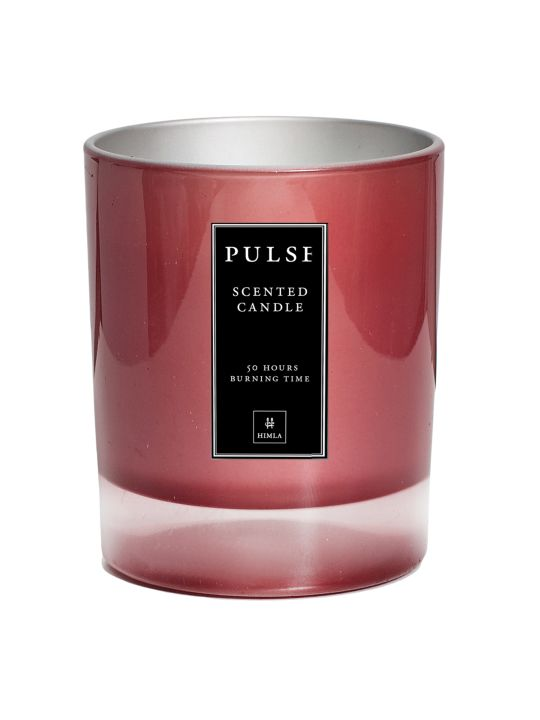 PULSE scented candle - a modern scented candle in seasonal colours #himla_ab #himla #scentedcandle #candle #pulse #fresh #Pulse