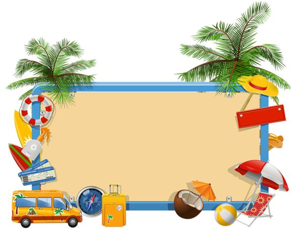 Summer Vacation Png Clipart Tubes Allerlei Misc