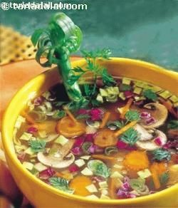 An unusual yet delicious, vitamin C rich soup which is as refreshing as its name.