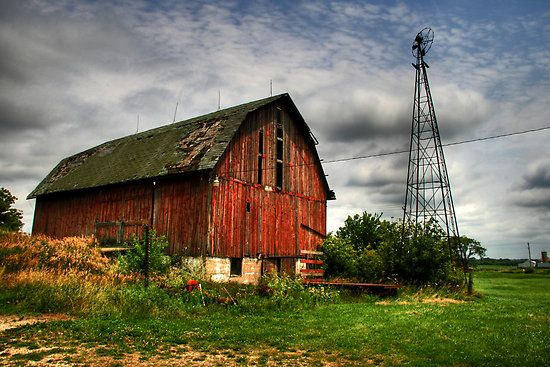 Need to renovate a barn!Old House, Paste Life, Beautiful Sky, Barns Photography, Barn Photography, Red Barns, Barns House, Country, Old Barns