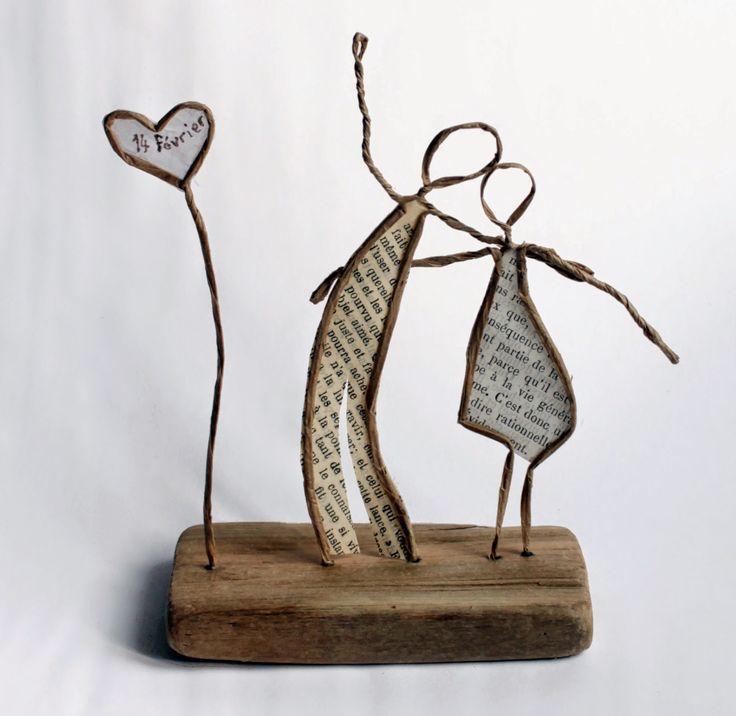 Le 14 février, c'est la St Valentin. Pour marquer le coup, vous pourrez réaliser un couple d'amoureux en suivant le pas à pas publié par le ...