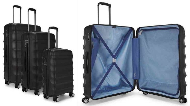 Travel Luggage Sale: Antler Suitcase Juno, 4 Wheel Spinner. Read more. Visit Nigeria Rendezvous on - http://nigeriarendezvous.com/travel-luggage-sale-antler-suitcase-juno-4-wheel-spinner/ - http://nigeriarendezvous.com/wp-content/uploads/2018/02/Travel-Luggage-Sale-Antler-Suitcase-Juno-4-Wheel-Spinner.jpg - Antler Suitcase Juno, 4 Wheel Spinner is made of tough Polypropylene material. Fixed TSA combination lock. Lightweight locking trolley system, 360 degree rotating wheels.