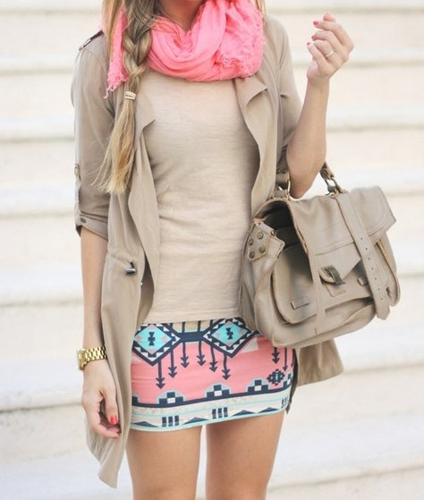 ...this outfit, especially the tribal skirt