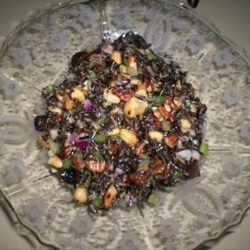 Wild Rice Salad With Figs - Rutherford Grill, Napa Valley