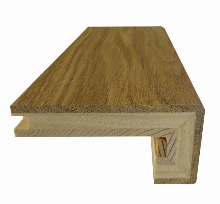 Tipo A: bordo squadrato per scala, legno a 3 strati, incastro MF Spessore: 15mm