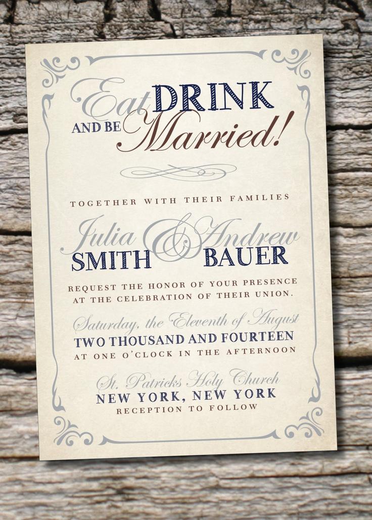 11 best Vintage Wedding Invitations images on Pinterest | Retro ...