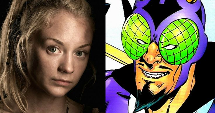 'Flash' Gets 'Walking Dead' Alum as the Bug-Eyed Bandit -- 'Walking Dead' star Emily Kinney arrived in Vancouver last night to play Brie Larvan, the Bug-Eyed Bandit in CW's 'The Flash'. -- http://www.movieweb.com/flash-tv-emily-kinney-bug-eyed-bandit