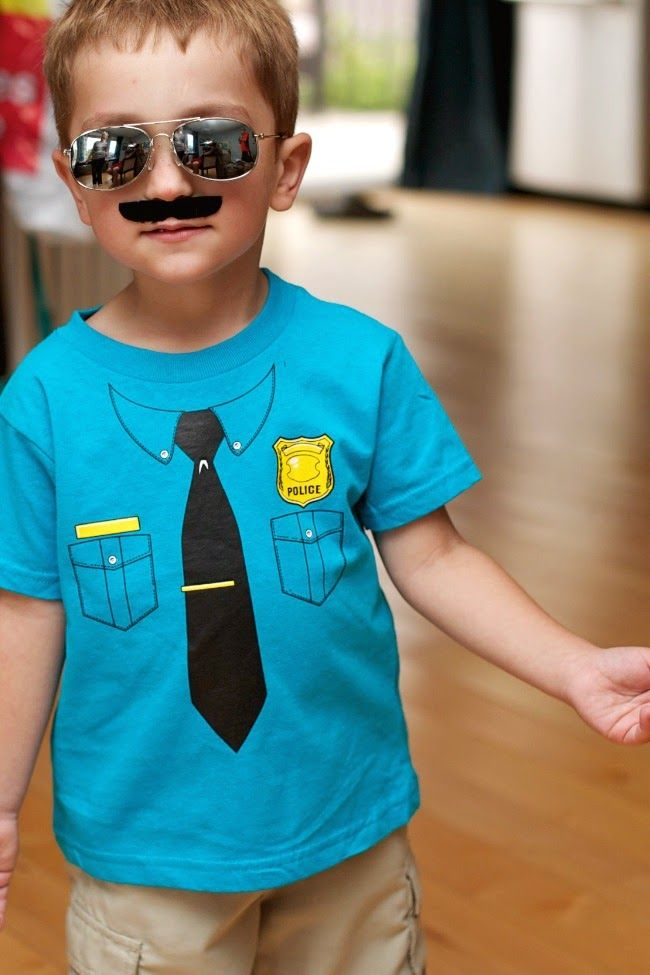 Police Party Ideas from @spaceshipslb  {Made by a Princess}