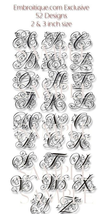 Maisie Monogram Font Set 4 and 5 Machine por Embroitique en Etsy