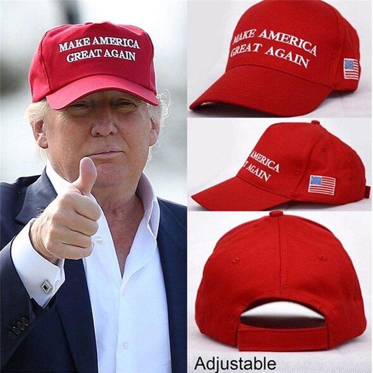 US Donald Trump Cap GOP Republican Adjust Mesh Baseball Hat  #Unbranded #BaseballCap