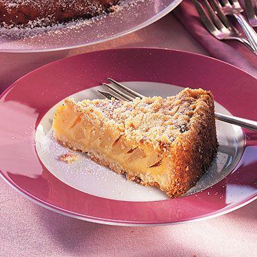 Quittenkuchen (GU-Rezept) (Ebenfalls aus Streuselteig wie Baiservariante; 1Kg Quitten; statt 2 Eigelb 1 ganzes Ei nehmen)