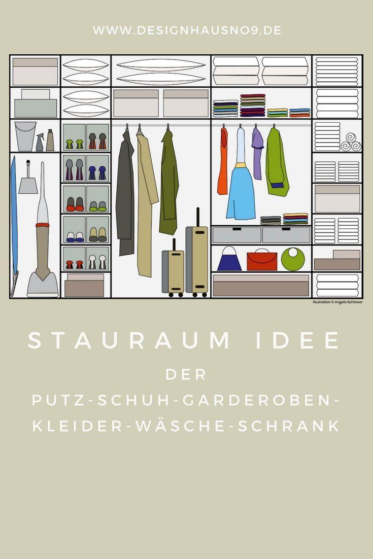 Muck And An Ingenious Storage Idea For Your Closet Closet Idea Ingenious Makeover Muck Storage Stauraum Ideen Stauraum Schrank Stauraum