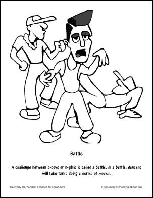 hop coloring pages - 1000 images about hip hop dance party on pinterest 40th