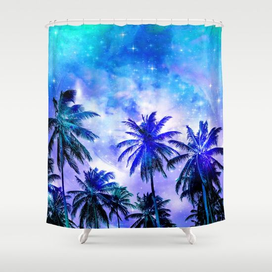 Summer Night Dream Shower Curtain
