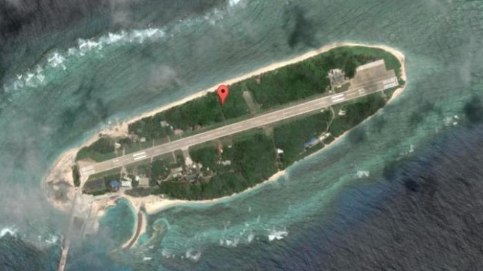Pulau Taiping - Gambar Wilayah Ini Dikaburkan di Google Maps, Begini Alasannya