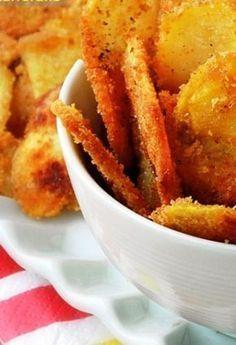 Πατατάκια (τσιπς) στο φούρνο για να τα απολαύσετε χωρίς ενοχές