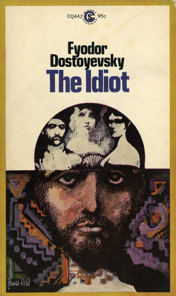 """The Idiot"" is a novel written by the 19th-century Russian author Fyodor Dostoyevsky, first published serially between 1868 and 1869. The Idiot, alongside some of Dostoyevsky's other works, is often considered one of the most brilliant literary achievements of the ""Golden Age"" of Russian literature. Prince Lev Nikolayevich Myshkin, a trusting nature and naive, comes to the conclusion that, in a world obsessed with money, power, and sexual conquest, a sanatorium may be the only place for a…"