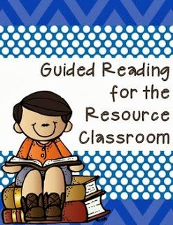 Mrs. H.'s Resource Room: A Look Inside: Resource Reading-Organization