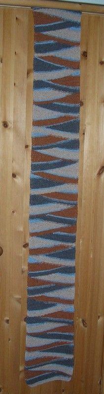 Material: 100-200g selbst musternde Sockenwolle, 3er Nadel Muster:alle Reihen rechts. Los geht's: 42 Maschen anschlagen und 5 Reihen rechts. *In der nächsten Reihe 39 M. stricken, wenden,1U…