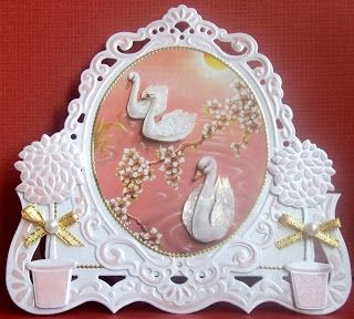 GREET'S KAARTENSITE: a gorgeous card with swans