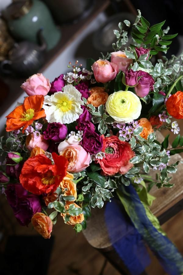 Pin By Pink Clover Flowers Decore On Flower Bouquets Ranunculus Flowers Flowers Bouquet Same Day Flower Delivery