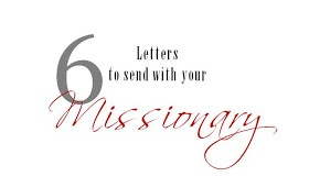 Feed. Pray. Drive...My life in a nutshell.: six letters ro send a missionary