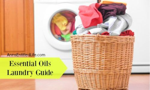 Essential Oils Laundry Guide; use these essential oils to remove stains, brighten fabrics, remove odors, disinfect and add fragrance to your laundry.