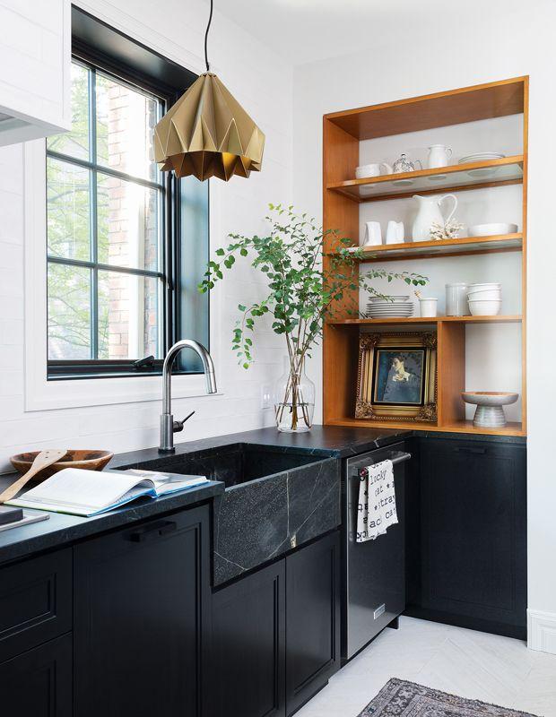 30 Dark Moody Kitchens That Are Totally Dreamy Kitchen Design Trends Kitchen Cabinet Design Top Kitchen Designs
