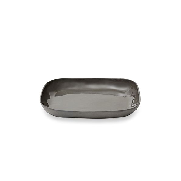 Cloud Square Plate (M),Charcoal21 x 21 x 2.5cm | marmoset found